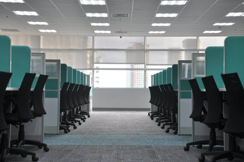 office partition installations